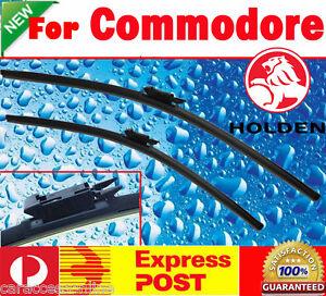 Pair Frameless Windscreen Wiper Blade Holden COMMODORE VE 2006 - 2013 Express