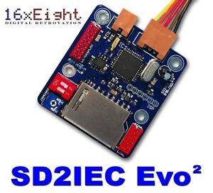 SD2IEC Evo² für Commodore 64/128/VC20/+4 C64 SD-2-IEC 1541 Ersatz!