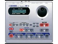 BOSS DR3 DR.RYTHM drum and bass machine