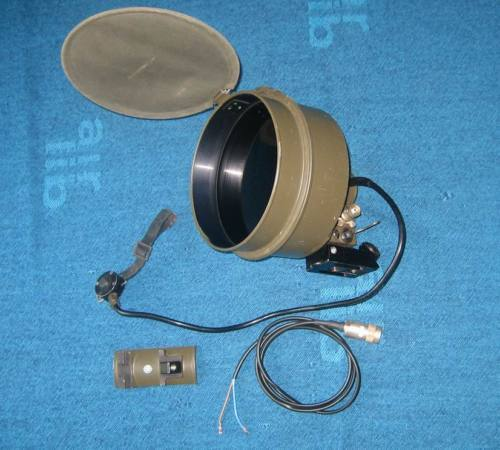 Bw Infrared Illuminator Ir For Fero 51/B8V Fero51 Eltro + Mount
