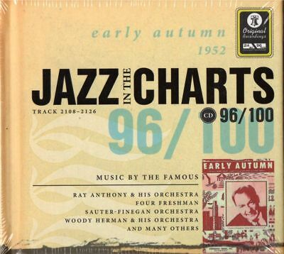 JAZZ IN THE CHARTS - 1952 - NEU CD early autumn 96/100 mit Booklet D/GB 100 Gb Cd