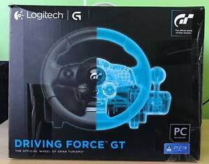 Logitech Driving Force GT Racing Wheel for PlayStation 3 4 and PC Wolli Creek Rockdale Area Preview