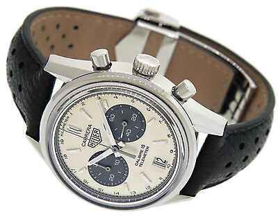 Tag HEUER Carrera Calibre 18 Telemeter, Vintage Style, Box & Papers, CAR221A