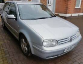 Breaking spares or repair silver mk4 golf gti good interior alloys engine