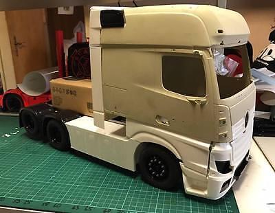 Actros Longline Fahrerhaus Tamiya Truck 1:14