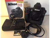 Nikon D3 12.1mp Full Frame Professional Digital Camera