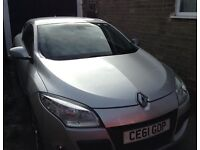 61 Plate Renault Megan Coupe Dynamic for sale.