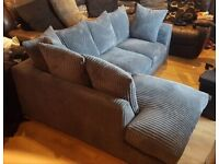 GAIGANTIC SALE OFFER AVAILABLE ON ALL NEW JUMBO CORD CORNER & 3+2 SEATER SOFA SET AVAILABLE IN STOCK