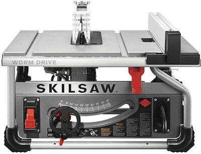 "Skilsaw SPT70WT-22 10"" Portable Worm Drive Table Saw With Diablo Blade"