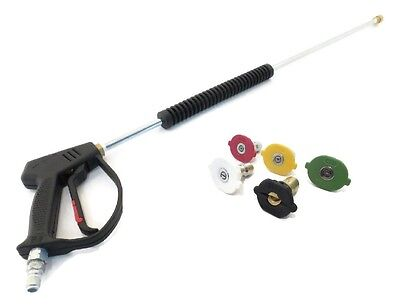 Deluxe SPRAY GUN, WAND, & TIPS KIT for Sears Craftsman 580753410, 020237 Washer