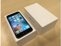 Boxed Space Grey Apple iPhone 6 64GB Mobile Phone on ee / t mobile / virgin + Warranty