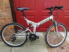 "Foldable adult bike 26"" wheels"
