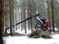 Trailer Carried Tree Processor - Timber Production Equipment
