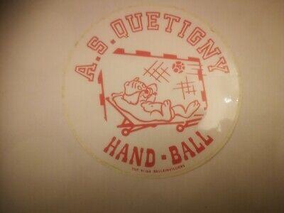 R13  retro sticker A.S. QUETIGNY HAND-BALL TEAM handball hand ball handbal