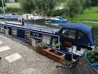 35ft Narrow Boat & 40ft Freehold Mooring