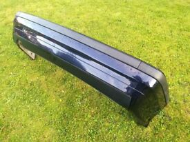 BMW 3 SERIES E36 COUPE CONVERTIBLE SALOON TOURING REAR BUMPER - ORIENT BLUE