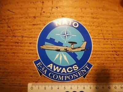R5* retro sticker NATO AWACS AIRPLANE ARMY E-3A leger vliegtuig autocollant ABL