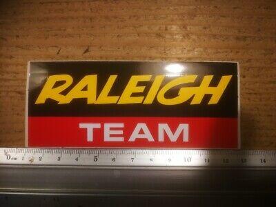 R9  retro sticker RALEIGH TEAM CYCLISME  TOUR  GIRO VELO BICYCLE FIETSEN