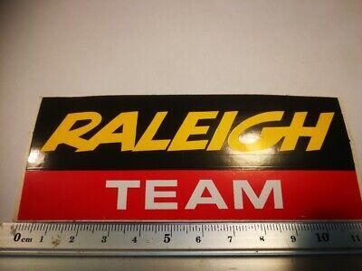 R5  retro sticker RALEIGH TEAM CYCLISME TOUR GIRO RONDE FIETSEN RENNER