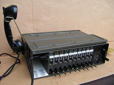Feldvermittlung 10A für Feldfernsprecher Feldtelefon Bundeswehr 10er-Vermittlung online kaufen