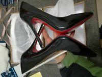Ladies never used Louboutin heels size 5