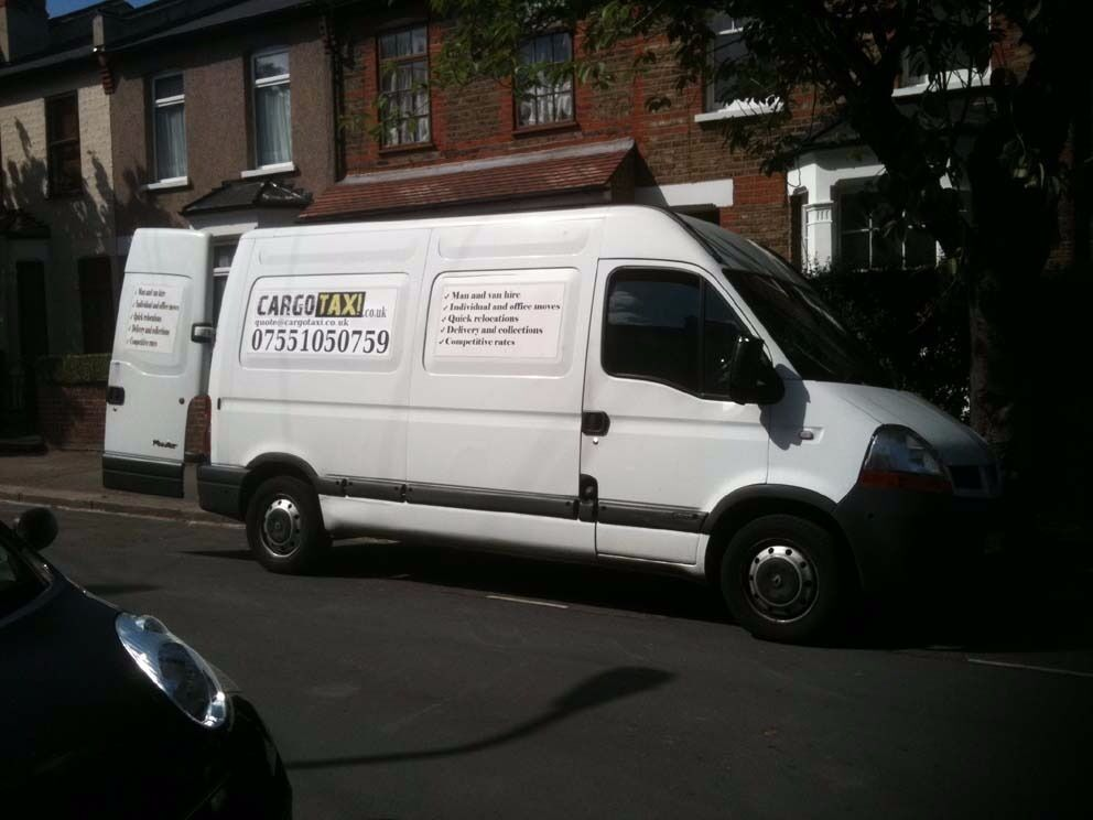Man and Van Hire in South - West and All London. Cargotaxi. Removals. Furniture delivery.