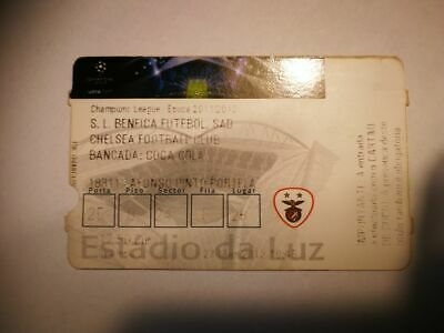 R2 TICKET BENFICA LISBOA - CHELSEA FC  27/03/2012 CHAMPIONS LEAGUE