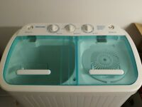 Twin Tub Washing Machine - Camping/Caravan/Studio Apartment