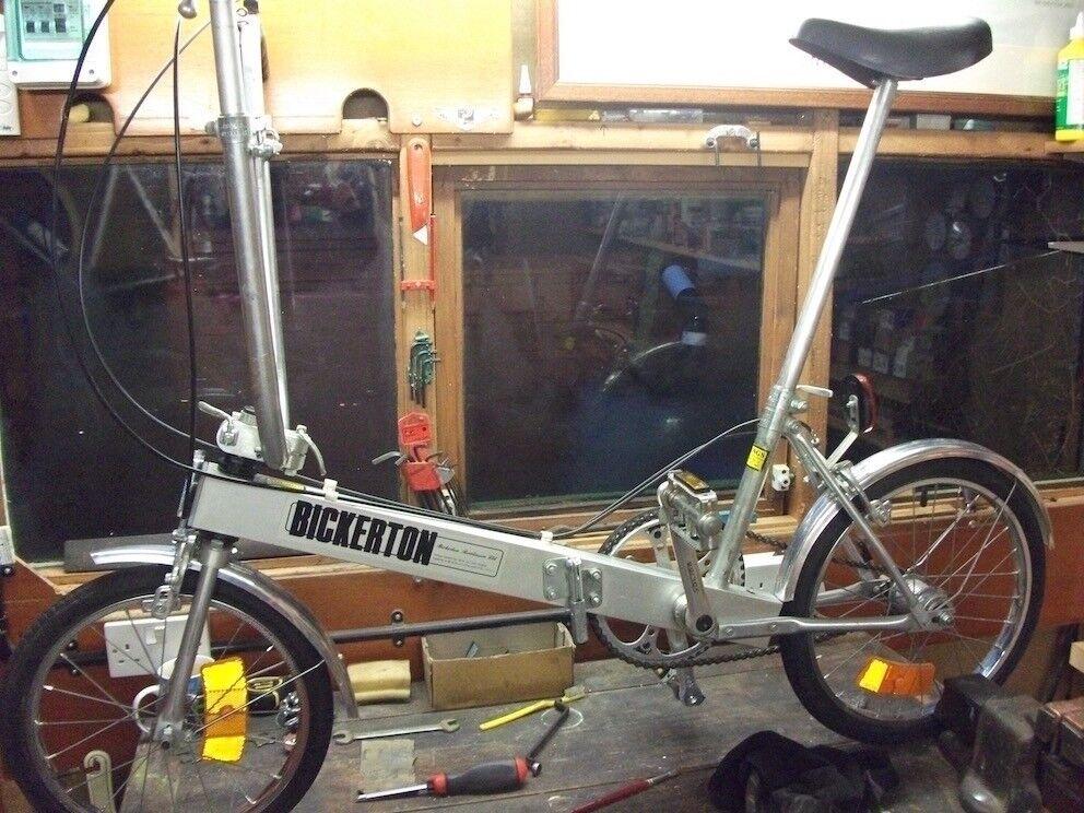 Bickerton Portable folding bicycle