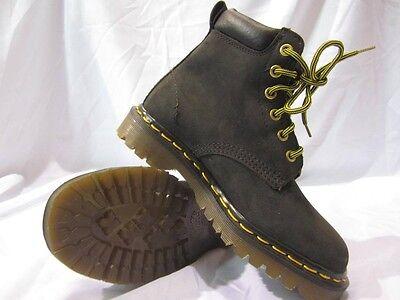 Vintage Dr. Doc Martens Youth Black 6 Eye Hiking Boots UK 3 MADE IN ENGLAND