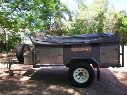 Boilermaker Made Heavy Duty Soft Floor Off Road Camper Trailer