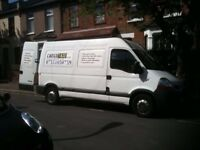 Man and Van Hire in South - West and All London. Removals. Furniture delivery and assembly.
