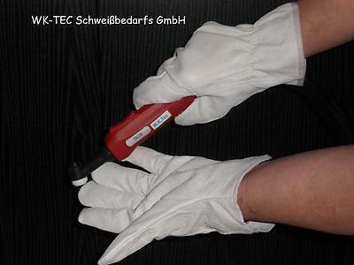 WIG TIG  Schweisser Handschuhe aus weichem Nappa Leder Gr.10 Kurz  5Paar