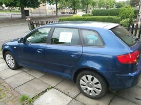 Blue Audi A3 Special Edition 1.6 Petrol for Sale! - AVAILABLE IMMEDIATELY!