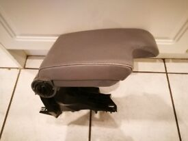 BMW 3 SERIES E46 COUPE SALOON TOURING CONVERTIBLE GREY LEATHER CENTRE ARM REST