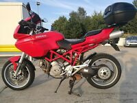 Ducati Multistrada 1000 DS Red Motorbike / Motorcycle 2003 / 03. MOT June 2018