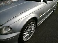 BMW 3 SERIES E46 COUPE CONVERTIBLE PRE FACELIFT 99-03 PASSENGER SIDE TITAN SILVER FRONT WING