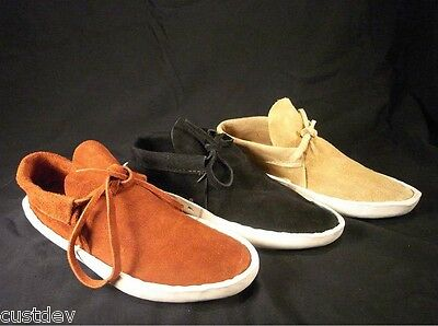 WOMEN Rust,Sand,Black NAVAJO ThickSole LOWCUT MOCCASINS