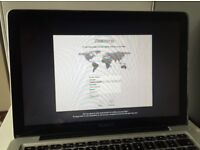 "MacBook Pro, 13.3"" Mid-2012, 2.5GHz dual-core Intel Core i5"