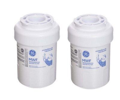 2 PACK GE MWF Replacement Refrigerator Water Filter  Replace MWFP HWF
