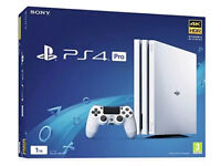 PS4 PRO WHITE BOXED Will Take Part X For Nintendo 3DS Switch Xbox One or Cheaper PS4 CAN DELIVER