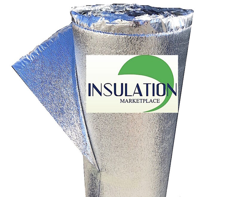 RADIANT BARRIER  48/'/'X50ft roll SmartSHIELD 5 Reflective Foam Core Insulation