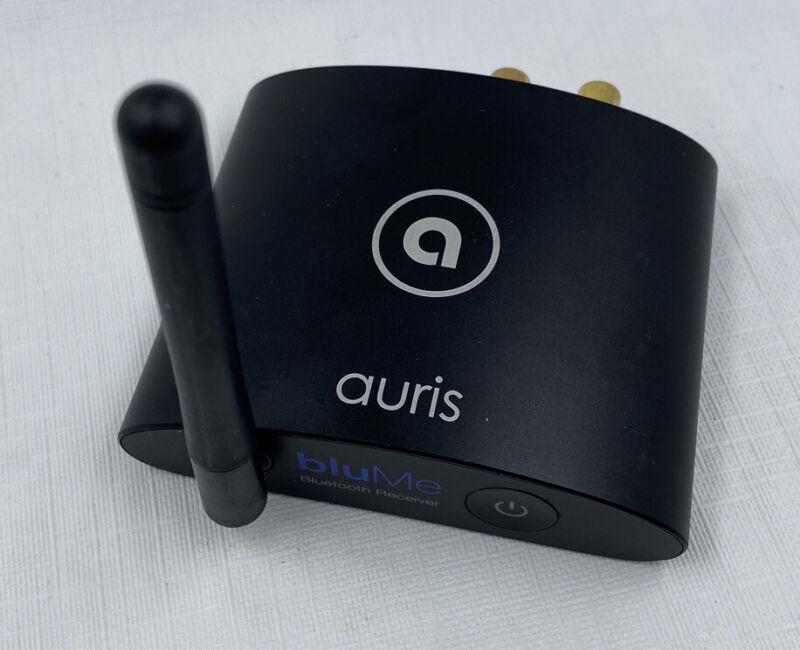 Auris BluMe True HiFi Bluetooth Music Receiver Only- Black