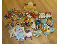 Baby toys only £10 for the lot