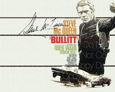 Steve McQueen signed Bullitt Papillion 8X10 photo picture poster autograph RP 3
