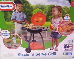 Little Tikes sizzle 'n' serve grill play toy barbecue , brand new Ascot Brisbane North East Preview