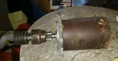 Ford 871 Tractor Starter 600 800 1871 4x4 Tractor 3 Bolt Starter Part
