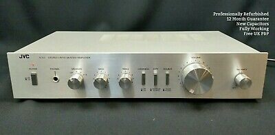JVC A-S3 Vintage Amplifier WORKING & REFURBISHED Stereo HiFi c/w Phono Stage