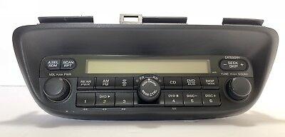Oem-factory Nav (Honda Odyssey AM FM XM DVD NAV radio control head. OEM factory original receiver)