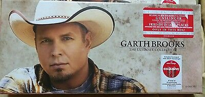 NEW GARTH BROOKS The Ultimate Collection GUNSLINGER Target EXCLUSIVE 10 DISC BOX